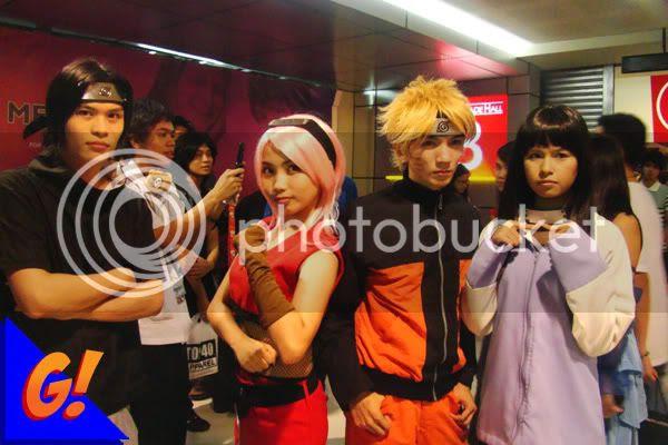 Naruto cosplay Toycon 2009