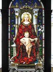 The Blessed Virgin enthroned with the Infant C...