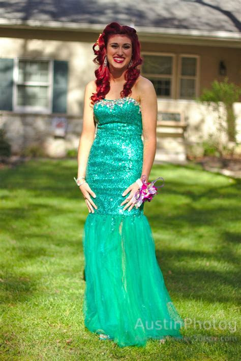 The Little Mermaid Ariel inspired prom   Ariel, The Little