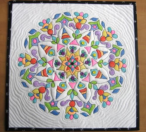 Mandala Quilt #1