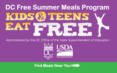 DC Free Summer Meals Program