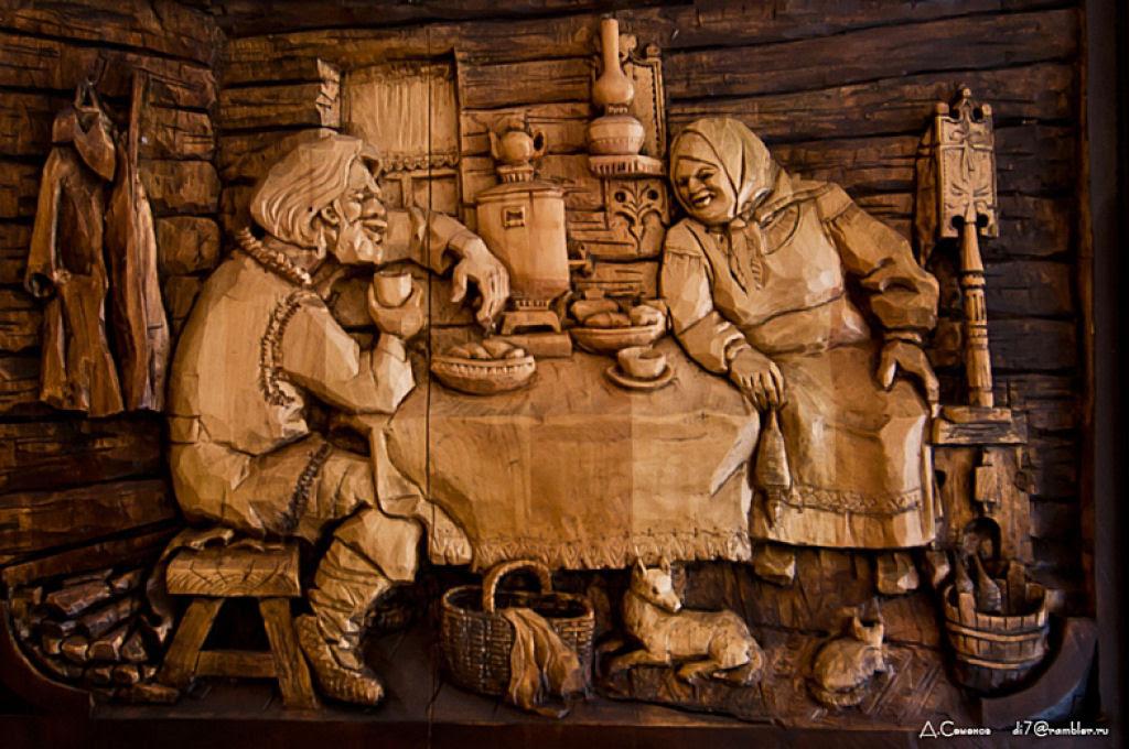 As incríveis pinturas esculpidas de Kronid Gogolev 18