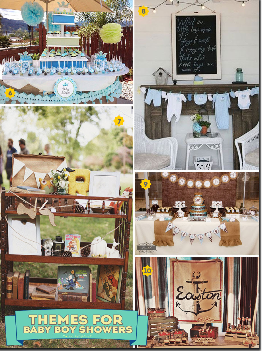 Fun And Interactive Baby Shower Themes For Boys