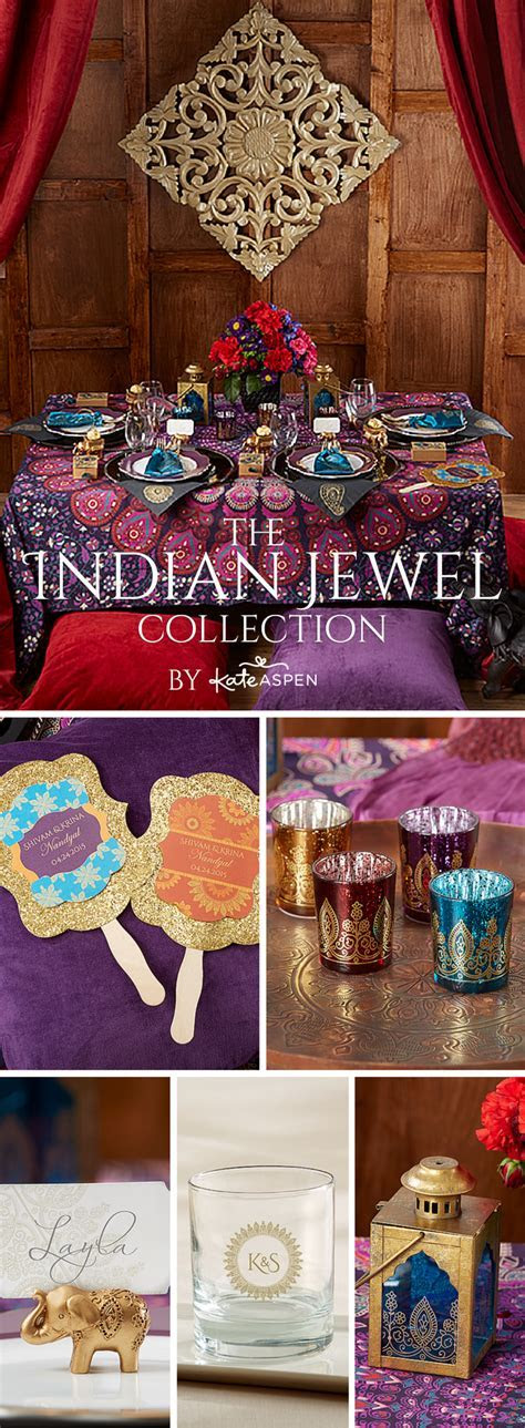Featuring intricately detailed elephant favors and other