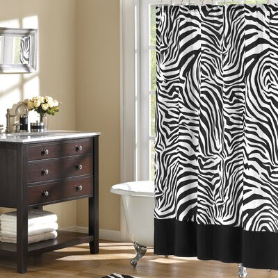 Animal Print Shower Curtains | Wayfair