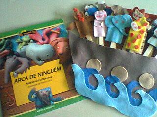 Livro Arca de Ninguém - Autora: Mariana Caltbiano by Menina Prendada - Manualidades da Dayse