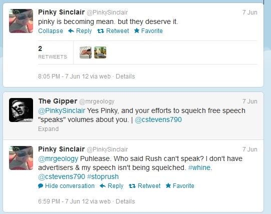 @PinkySinclair attacks