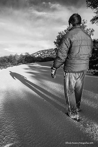 Sombra alargada by Alfredo Romero Fotografias 