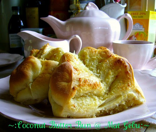 Coconut Butter Bun
