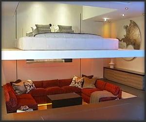 Apartment By Simon Woodroffe Home Crux Yo Home Futuristic Apartment