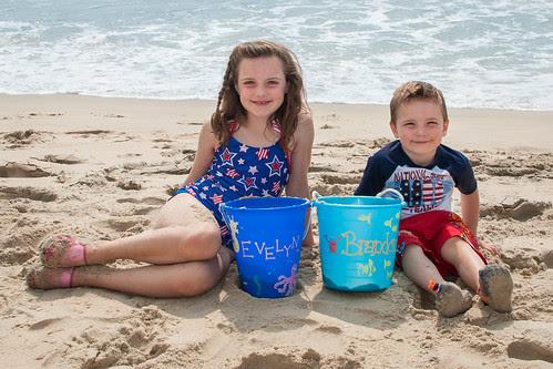 Brandon & Evy at the Beach
