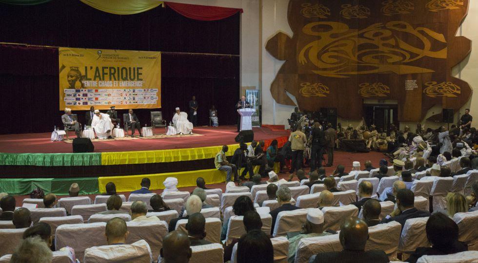 El Fórum de Bamako ha reunido a unas mil personas.