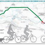 La véloroute le long du canal de la Haute-Seine, une aubaine pour relancer le tourisme