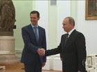 Putin promete continuidade do apoio militar e político à Síria