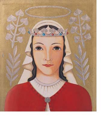 Sainte Zdislava de Lemberk, tertiaire dominicaine († 1252)
