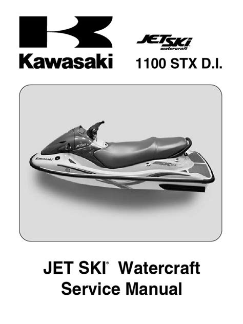 Kawasaki 1100 STX DI Service Manual