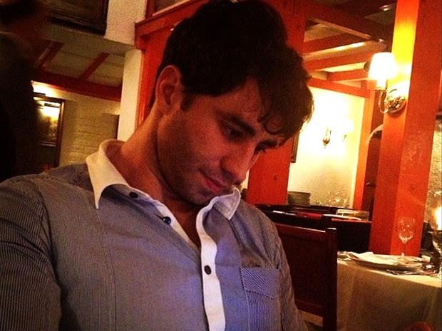 Fabiano M. Serfaty foi esfaqueado no Leblon (Foto: Reprodução / Instagram)