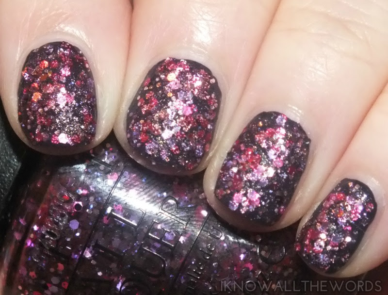 OPI Spotlight on Glitter- Blush Hour (1)
