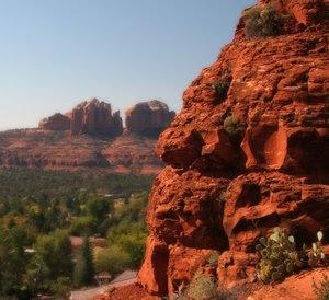 Red Rock: Red rock in Sedona Arizona
