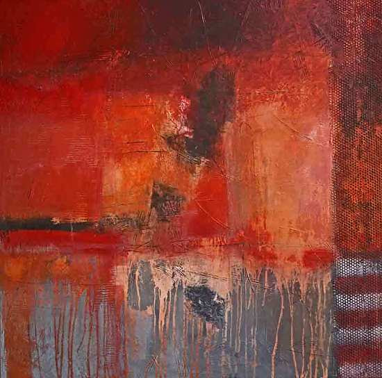 """A Matter to Consider by Filomena Booth Acrylic ~ 40"""" x 40"""""""