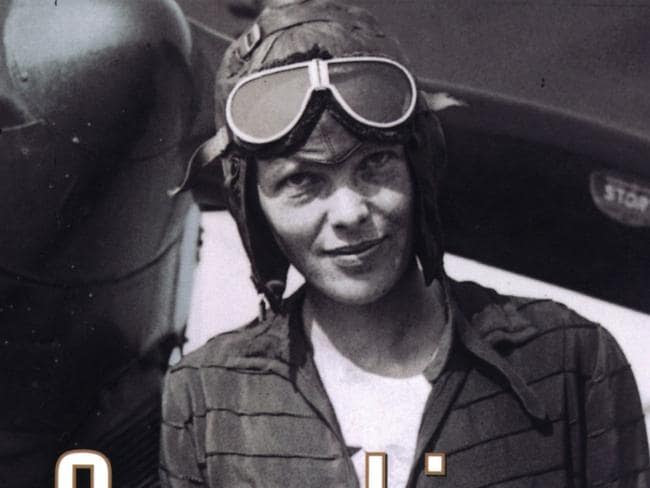 Pioneer aviator Amelia Earhart, first woman to fly across the Atlantic alone, in an undated photo. Picture: News Corp Australia