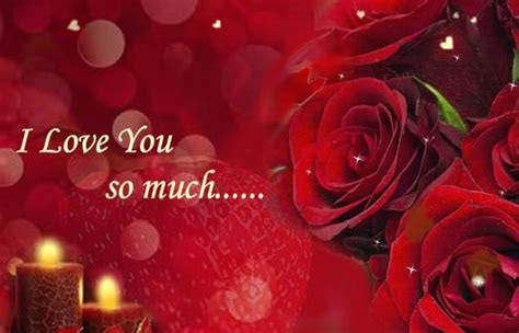 I Love You So Much  Free Roses eCards, Greeting Cards