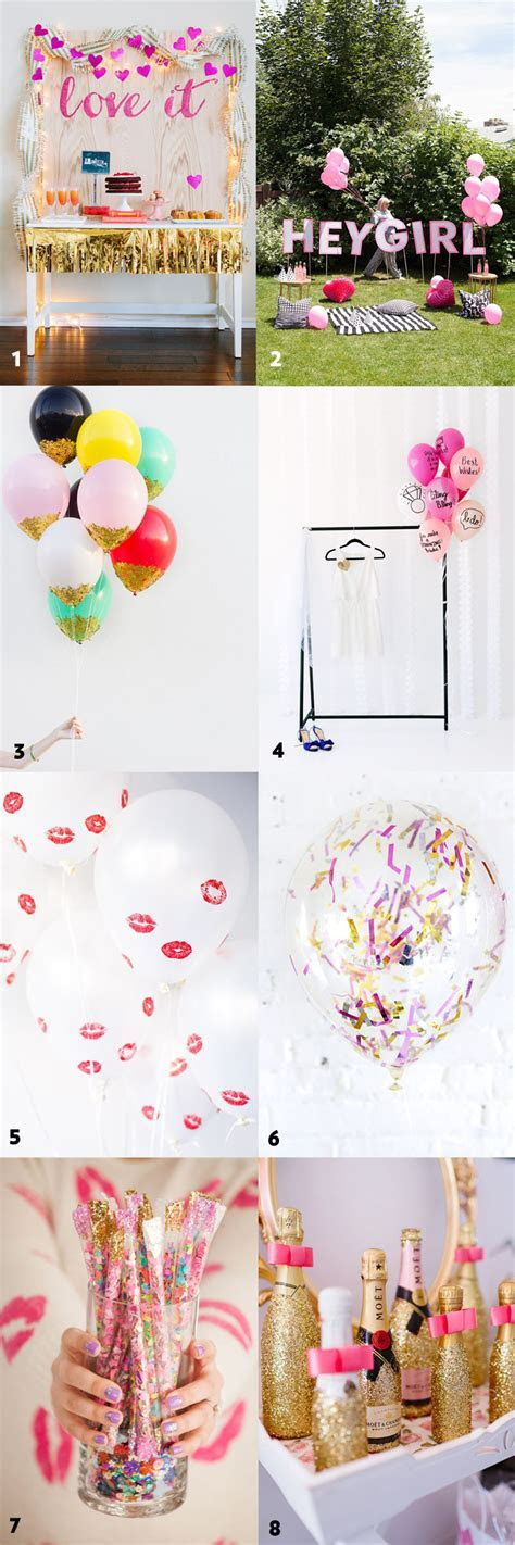 50 Simple and Stylish DIY Bridal Shower & Bachelorette