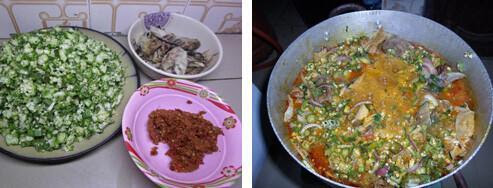 How To Cook Ebira Epehu Soup Popularly Known As Okra Soup.