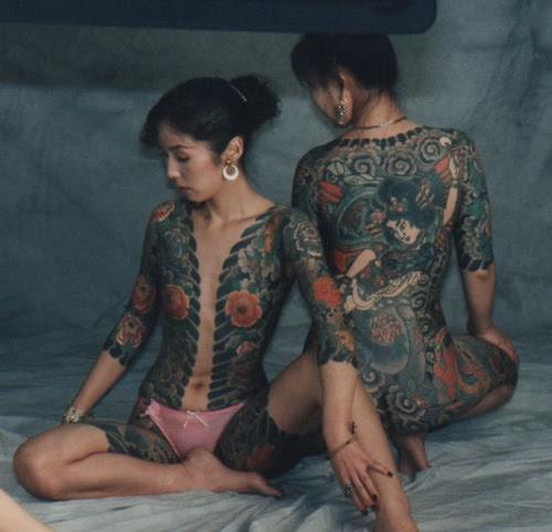 Labels: Yakuza tattoo for girl