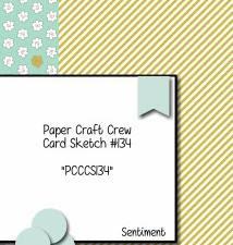 PCCCS #134: Card Sketch