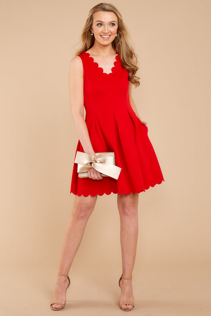 romantic red dress  red dress  dress  42