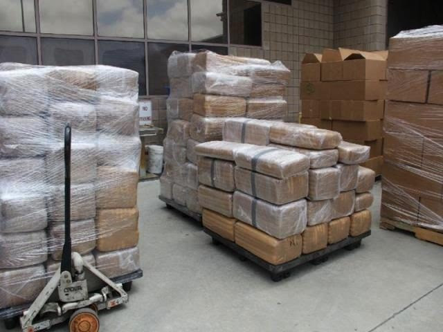 Feds Seize 7 Tons of Marijuana at California Border