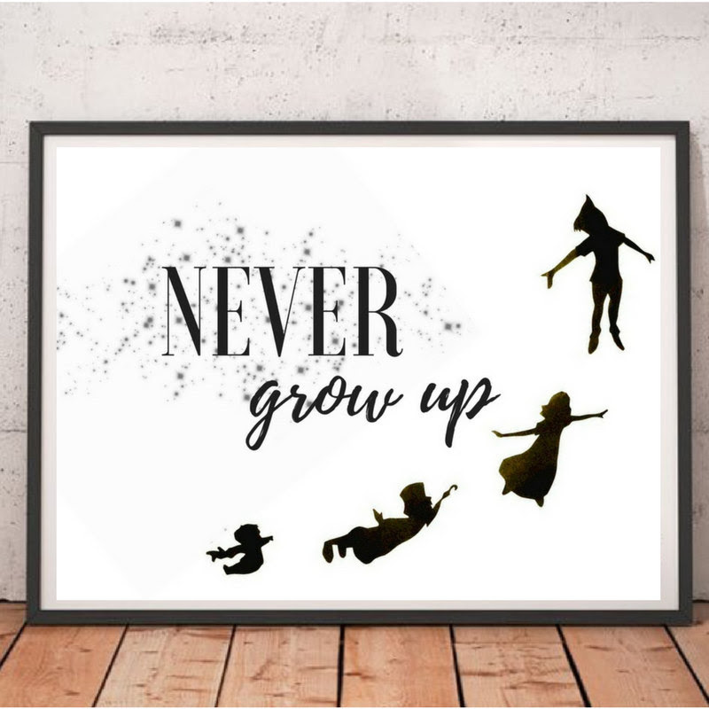 Never Grow Up A Peter Pan Inspired Read Across America Day Book