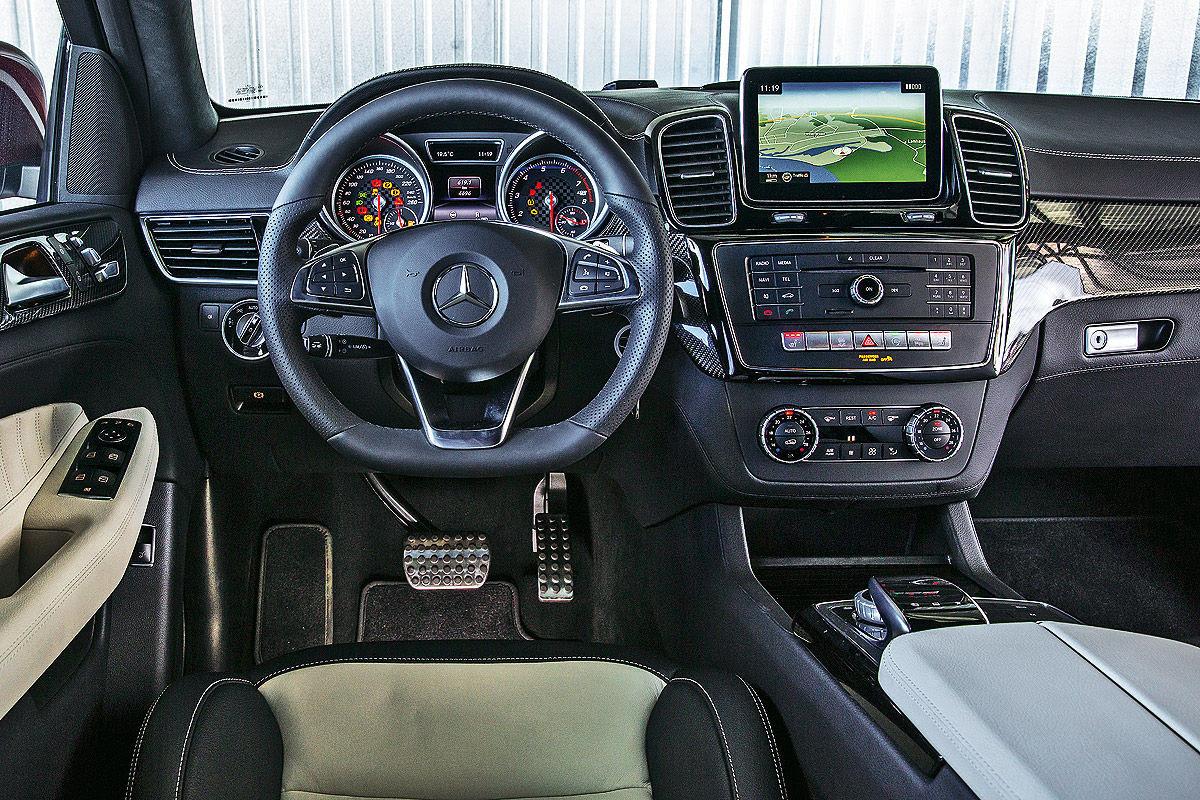 First comparison Mercedes GLE Coupe vs BMW X6 by Auto Bild ...