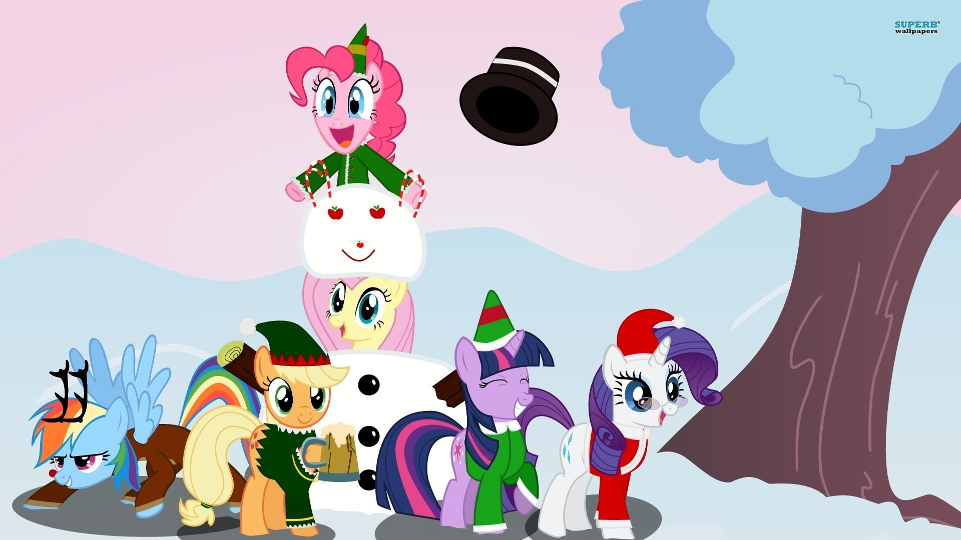 My Little Pony Christmas Wallpaper 74 Images