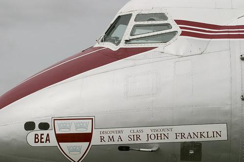G-ALWF Viscount 701