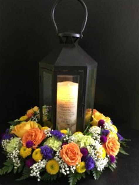 LED Flameless Memorial Candle LEDbCandle Lantern in