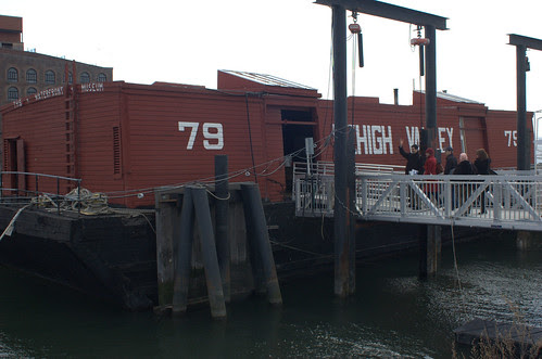 Waterfront Museum Barge, Red Hook
