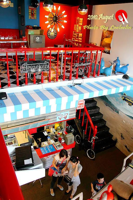 三峽北大美式復古車庫餐廳
