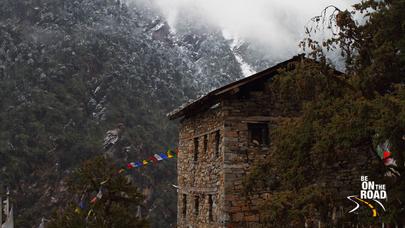 Stone House next to T Gonpa
