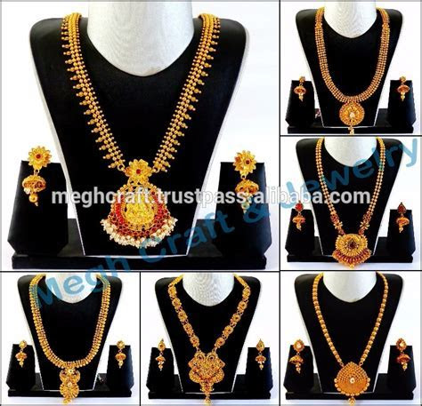 South Indian One Gram Gold Plated Kundan With Pearl