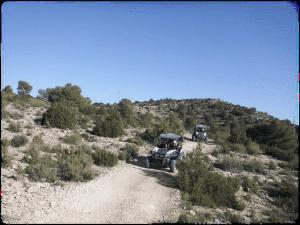 rutas en buggy biplaza