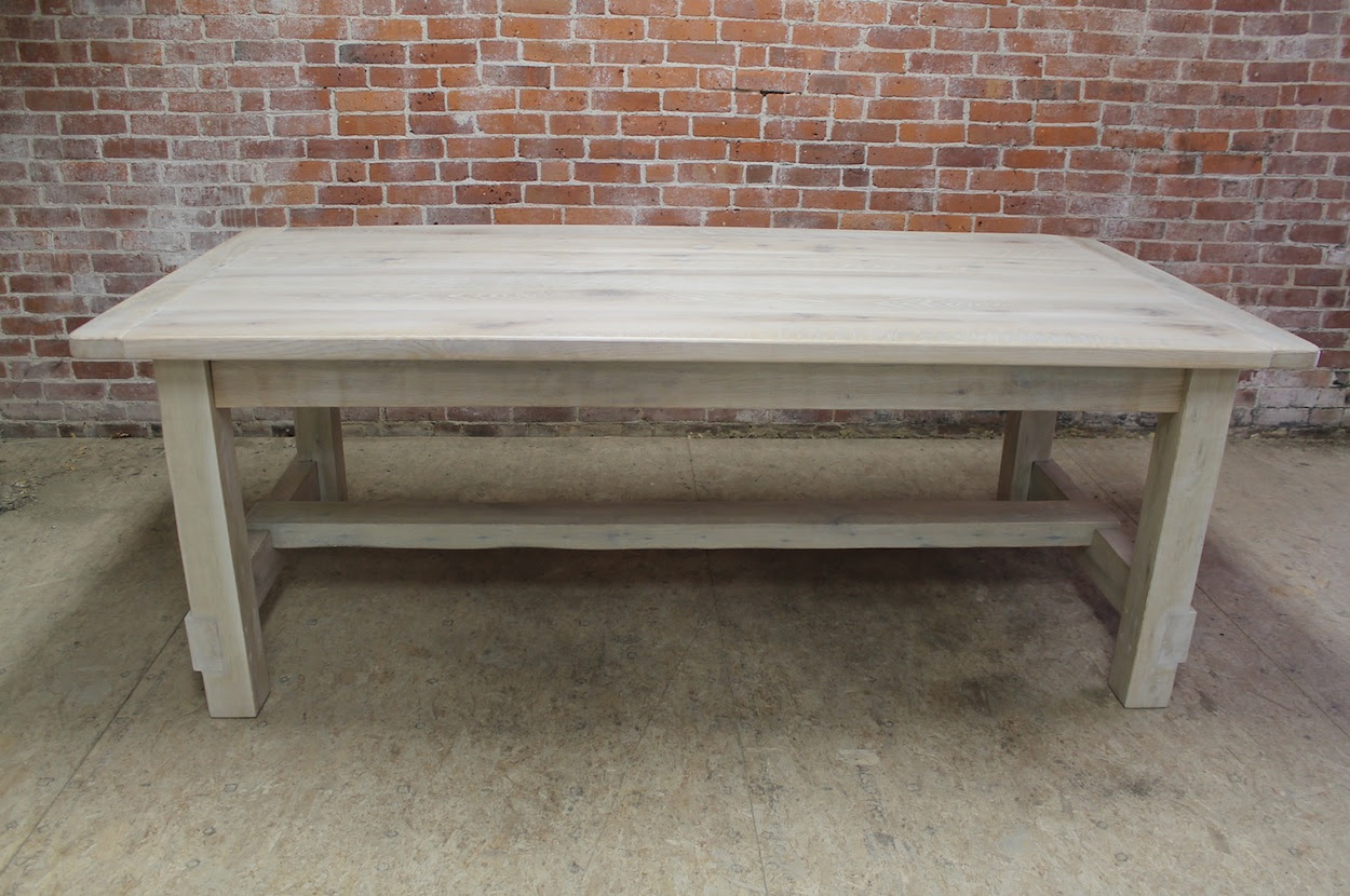 Bedroom Wood Paneling Reviews   15ft Oak Farm Table With ...