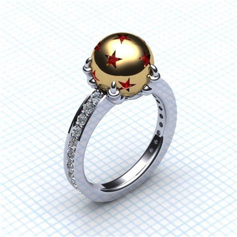 Dragon ball ring. this is probably the most beautiful