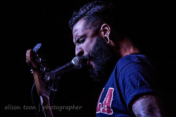 Aaron Evans, bass, Like Moths To Flames, Sacramento