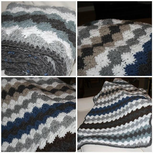 Kristen's crocheted blanket