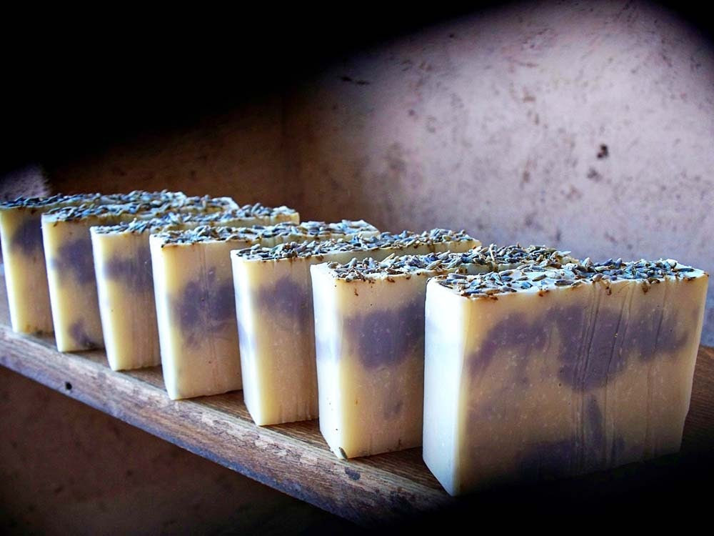 Lavender Soap with Clay and Essential oil