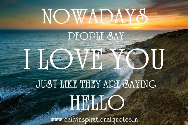 Quotes About Saying Hello 49 Quotes