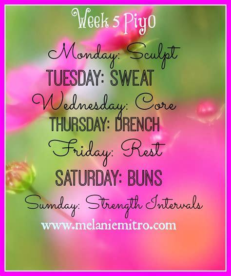 committed   fit piyo week  meal plan  progress