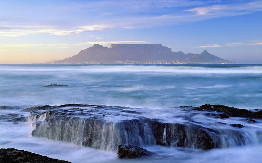 Table Mountain in South Africa